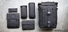Arkiv Field Backpack by Mission Workshop - ideal para o dia a dia!
