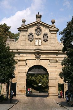 Leopold Gate, Vysehrad, Prague, Czech Republic