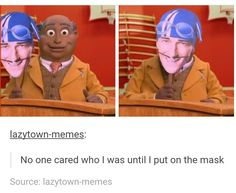 These memes are getting out of control Dankest Memes, Funny Memes, Hilarious, Jokes, Lazy Town Memes, Stefan Karl, Twisted Humor, Funny Posts, Humor