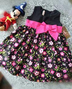 Pin by Zylka Nayeli on Ropita Niña Baby Girl Frocks, Frocks For Girls, Little Girl Outfits, Toddler Girl Dresses, Baby Outfits, Kids Outfits, Girls Dresses, Girls Frock Design, Kids Frocks Design