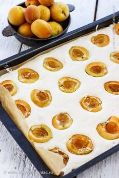 No Cook Desserts, Sweets Recipes, Baby Food Recipes, Cookie Recipes, Romanian Desserts, Romanian Food, Apricot Recipes, Desert Recipes, Sweet Treats