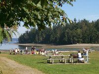 Penrose Point State Park - camping on the Puget sound