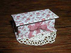 miniature decorative box   boite miniature tuto