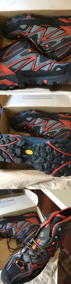 Mens 181392: Merrell Men S Capra Mid Sport Gore-Tex Hiking Boot Size 14M + Vibram And Unifly -> BUY IT NOW ONLY: $170 on eBay!