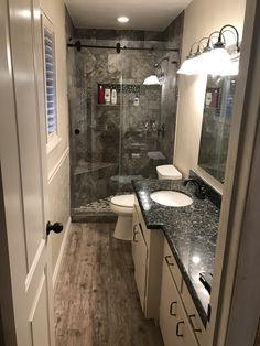 Double Vanity, Showers, Mirror, Bathroom, Design, Home Decor, Washroom, Decoration Home, Room Decor