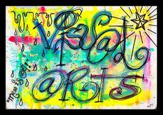 Visual Arts Title Page by theodosius123.deviantart.com on @deviantART