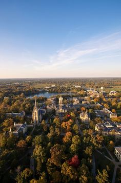 "Beautiful day in the Bend! Go Irish! Like the Irish? Be sure to check out and ""LIKE"" my Facebook Page https://www.facebook.com/HereComestheIrish Please be sure to upload and share any personal pictures of your Notre Dame experience with your fellow Irish fans!"