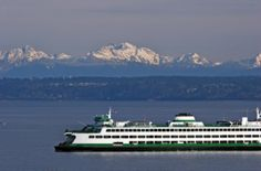 Washington State Ferries is the most used ferry system in the world, the largest passenger and automobile ferry fleet in the US, and the third largest in the world. It has always been one of my favorite things about living in the Northwest.