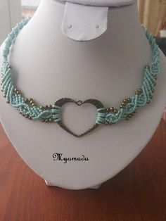 25% discount Micromacrame Necklace por Myamadasv en Etsy