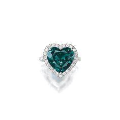 Impressive 6.26-Carat Natural Unheated Brazilian Alexandrite and Diamond Ring