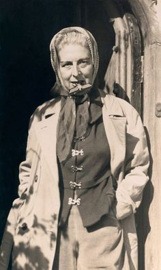 Claude Cahun (born Lucy Schwob) was a Jewish, gender nonconforming lesbian artist living in WWII Paris. (1894-1954)