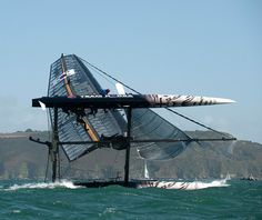 America's Cup: strong winds attracted big crowds to watch catamarans racing   off Plymouth