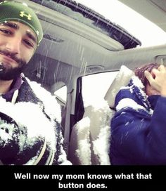 31 Latest Funny Memes. Well now my mom knows what that button does sunroof snow