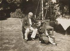 А.Павлова С Энрико Чекетти 1927. Лондон. Айви Хауз