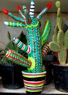 cactus de mache