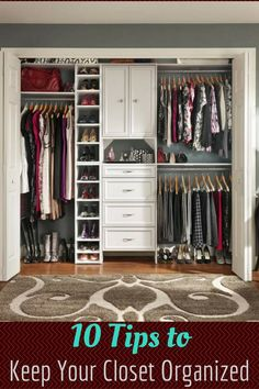 10 Ways to Keep Your Closet Organized - Mom Does Reviews