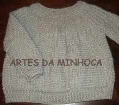 Artes da Minhoca - Você vai se apaixonar!: CASAQUINHO DE TRICÔ PARA ESQUENTAR DO…