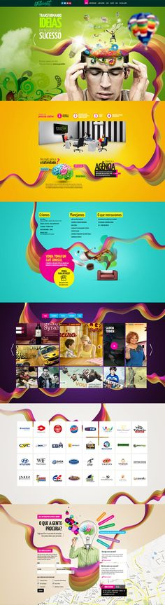 Unique Web Design, Interset Agency #webdesign #design (http://www.pinterest.com/aldenchong/)