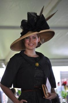 Fab hat with black bow.