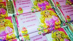 Mais chocolatinhos como lembrança de aniversários... VISITE o nosso site/loja online em BAIXO: WWW.CAKESAKADEMIAMAIS.COM
