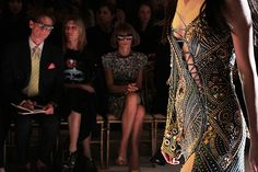 versace and anna wintour