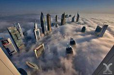 Desde el cielo Dubai #fotografía #foto