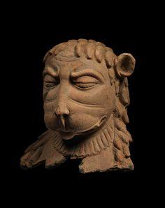 Narasimhadeva, terracotta, Gupta age, India