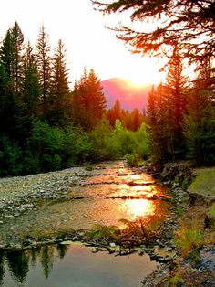 Belt Creek, MT by klizzard.deviantart.com on @deviantART. Can't you just hear the creek flowing gently...