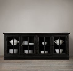 French Casement Glass Sideboard $1469.00| Restoration Hardware