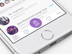 Here's an animation I did for a check-in button to make the user experience more fun, I think that were ios5/6 had lightning and texturing as eye candy, animations are the new playground for design...