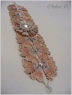 "The instructions can be found in the B & B ""Celebrating 15 Years"" .... #seed #bead #tutorial"