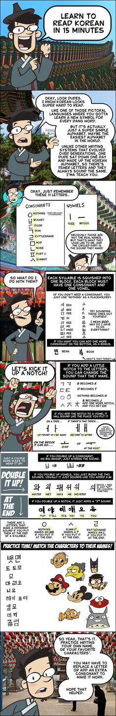 Learn Hangul | Learn the Korean alphabet known as Hangul ...