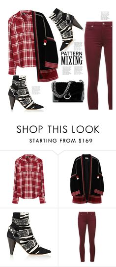 """""""Saturday - Lunch with Girlfriends & Shopping 😉"""" by hattie4palmerstone ❤ liked on Polyvore featuring Paige Denim, MASSCOB, Isabel Marant, 7 For All Mankind and Nine West"""