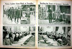 Print *0379 World War 1 Versailles Lloyd George Law German Prisoner 182Ae267 Old Original
