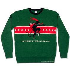 Merry Krampus! At last, a Christmas sweater for me!
