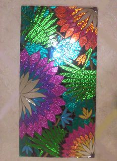 Tropical Handmade Stained Glass Mosaic Wall by spoiledrockin, $195.00