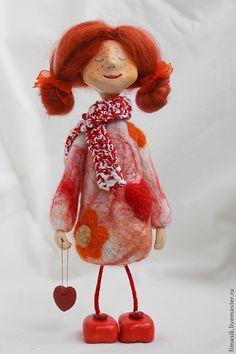 Тутта - рыжая девочка,Рыжая,домовушка,феечка,оранжевое настроение,подарок на любой случай