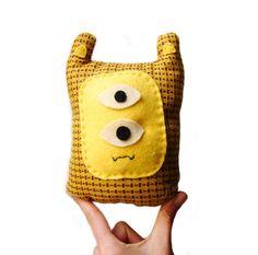 Yellow Monster Plush