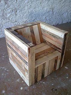 """palette"" wood // armchair"