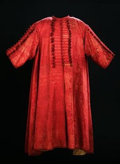 Kaftan by Anonymous from Poland, fabric from Turkey, before 1703, Staatliche Kunstsammlungen Dresden - Rüstkammer