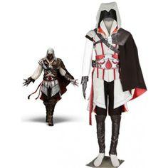 Assassin's Creed Ezio cosplay costume comes from www.eshopcos.com