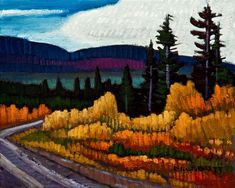 Yukon Bound, by Nicholas Bott Canadian Art, Canadian Artists, Colorful Landscape Paintings, Oil Painting Pictures, Oil Painting, Colorful Landscape, Art, Cool Paintings, Scenery
