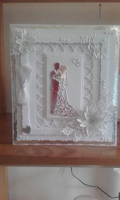 Carole Ballsom wedding card