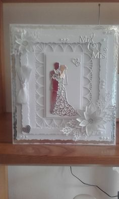 Carole Ballsom wedding card