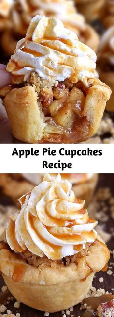 Mini Desserts, Fall Desserts, Just Desserts, Delicious Desserts, Yummy Food, Apple Recipes, Fall Recipes, Baking Recipes, Sweet Recipes