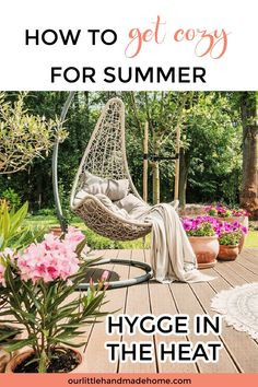 Are you looking for simple ways to embrace the season? Learn more about how to have a cozy Hygge Summer and beat the heat in comfort and style! Outdoor | Balcony | Seasonal | Summertime Outdoor Living Patios, Outdoor Balcony, Outdoor Dining, Outdoor Projects, Outdoor Ideas, Backyard Ideas, Summer Hygge, Patio Lanterns, Cool Umbrellas