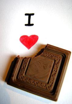 i love chocolate - Buscar con Google