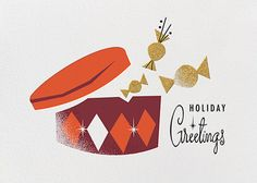 Candy Tin by Darling Clementine for Paperless Post. Customizable and available with individual recipient addressing. View more holiday cards on paperlesspost.com. #candy #christmas #holidays #sweets #tin