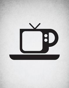 Blur - coffee and tv.  <3