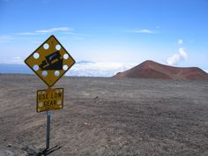 driving up Mauna Kea - Big Island, Hawaii
